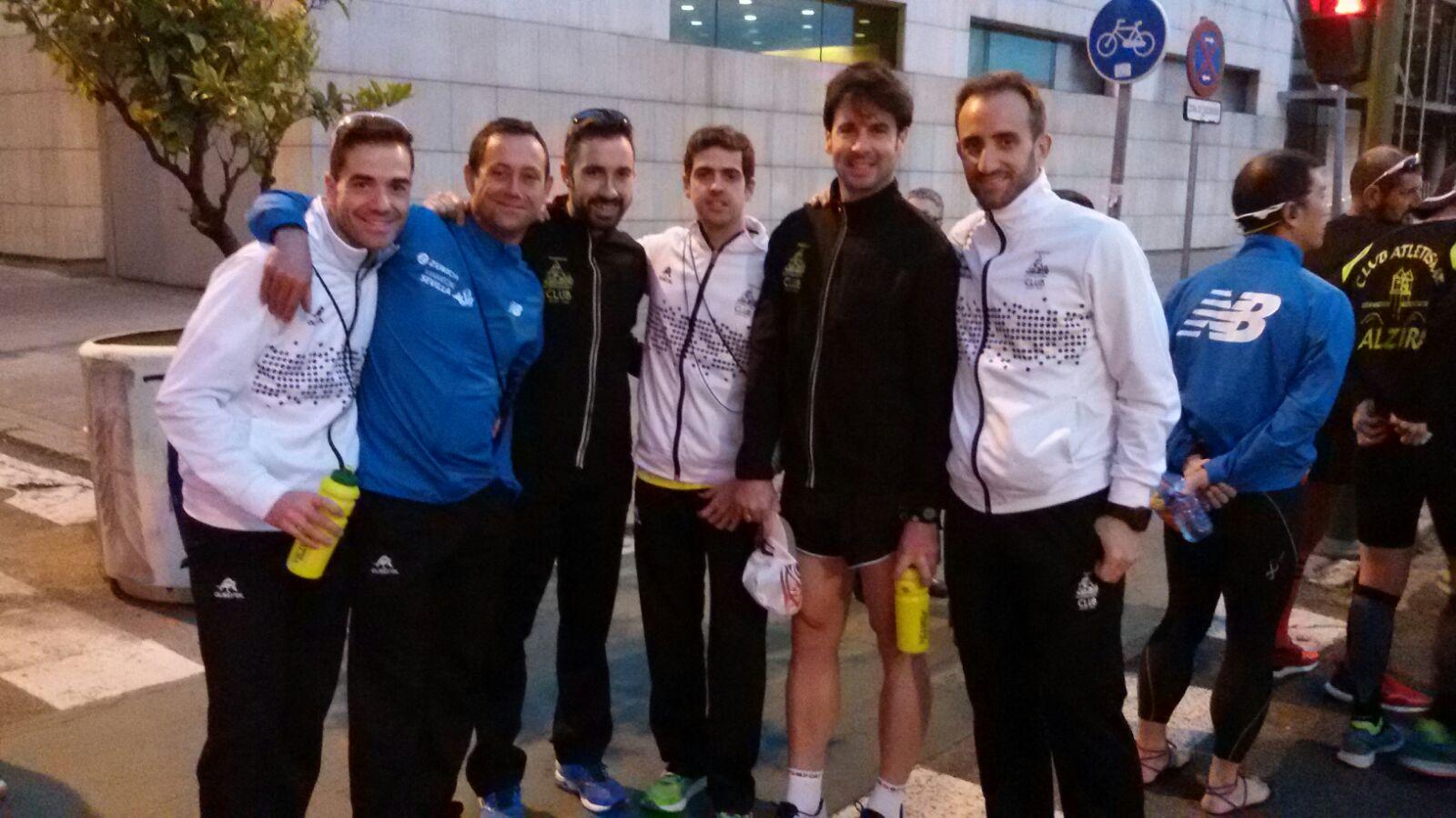 Maraton de Sevilla y 10kms Parla